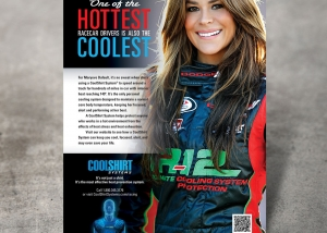 CoolShirt Racing Ad