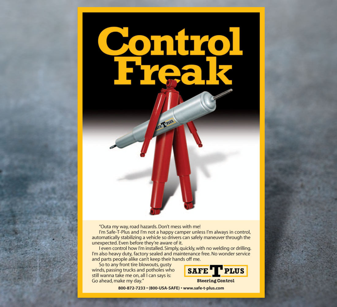 Safe T Plus Print - Control Freak