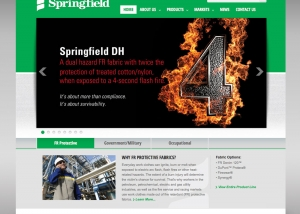 Springfield Website Homepage